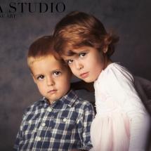 sedinta foto de portret cu copii